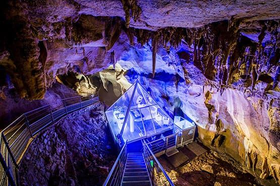 Visiter en Taxi la Grotte de la Cocalière