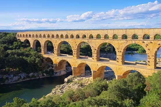 visiter le Le Pont du Gard