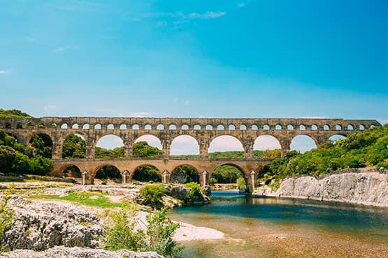 Taxi vers Pont du Gard