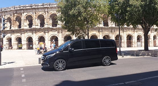 Réserver Chauffeur VTC à Nimes toutes distances